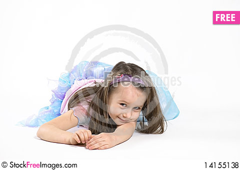 Free Little Fairy Royalty Free Stock Photos - 14155138