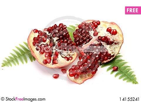 Free Ripe Pomegranate Stock Image - 14155241