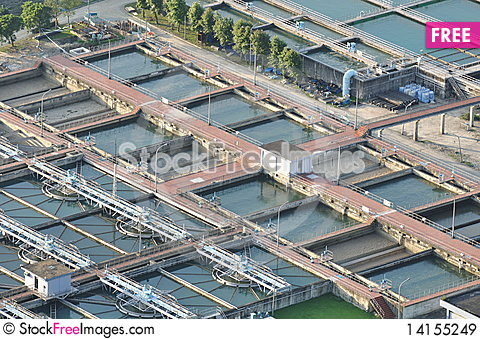 Free Water-polluted Station Royalty Free Stock Images - 14155249