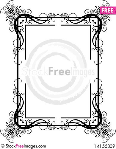 Free Vintage Frame_6 Royalty Free Stock Images - 14155309
