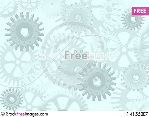 Free Abstract Machine Royalty Free Stock Photography - 14155387