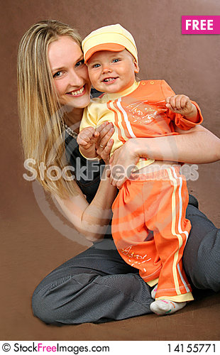 Free Mother With Baby Stock Image - 14155771