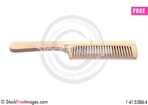 Free Wooden Comb Stock Images - 14155864