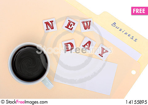 Free New Day Business Royalty Free Stock Photo - 14155895