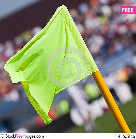 Free Corner Flag Royalty Free Stock Image - 14155946