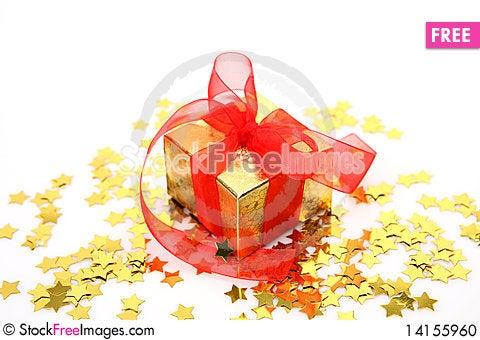Free New Year S Gift Stock Photo - 14155960