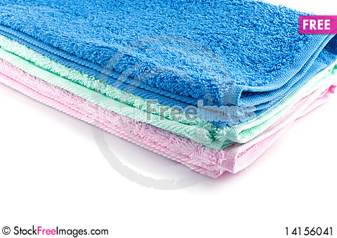 Free Color Towels Stock Image - 14156041