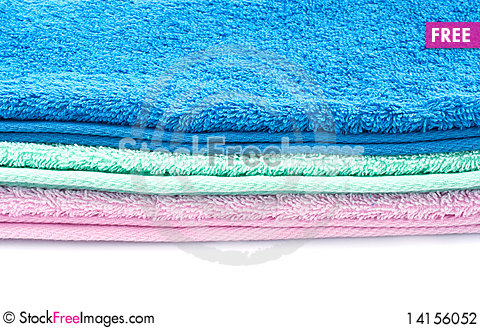 Free Color Towels Stock Photography - 14156052