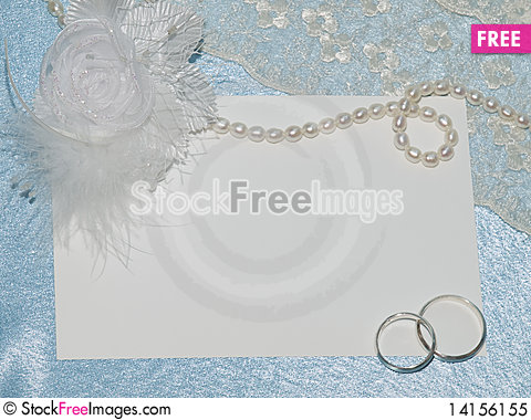 Free White Card For Congratulation Royalty Free Stock Photo - 14156155