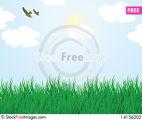 Free Summer Landscape Stock Photography - 14156202