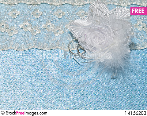 Free Background From Blue Silk Stock Photos - 14156203