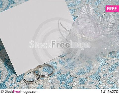 Free White Card For Congratulation Stock Photo - 14156270
