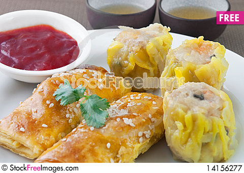 Free Chinese Dim Sum 5 Royalty Free Stock Photography - 14156277