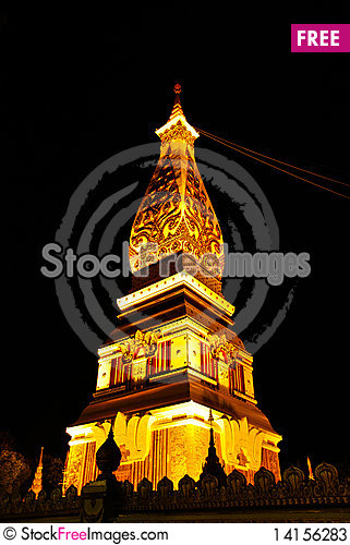 Free Popular Temple In Thailand Stock Photos - 14156283