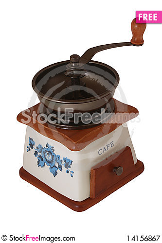 Free Coffee Grinder Royalty Free Stock Photography - 14156867