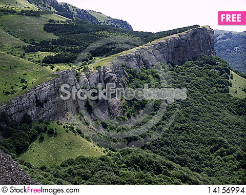 Free Mountains Of Crimea. Stock Images - 14156994