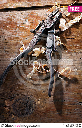 Free Old Hand Pliers Stock Photo - 14157310