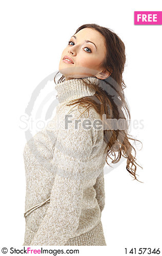 Free Portrait Of A Charming Female Royalty Free Stock Image - 14157346