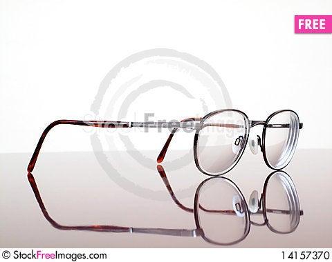 Free Closeup Of Eyeglasses Stock Photo - 14157370