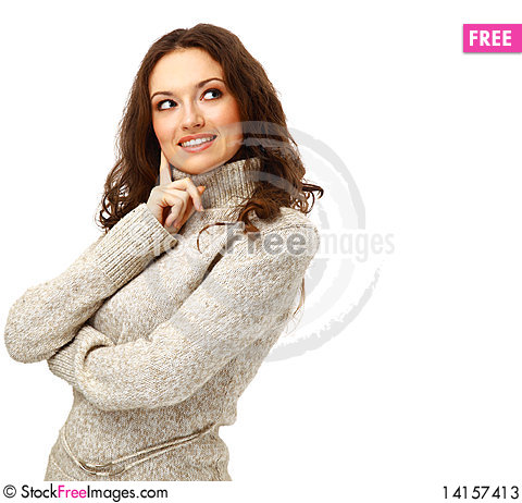 Free Portrait Of A Charming Female Stock Photos - 14157413