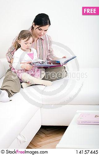 Free Reading Book Royalty Free Stock Photo - 14157445