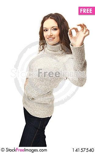 Free Beautiful Young Woman Stock Photo - 14157540