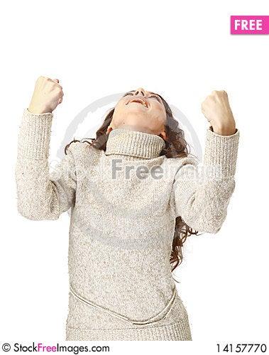 Free Portrait Of Joyous Woman Stock Photo - 14157770