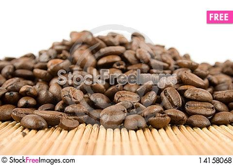 Free Coffee Beans Royalty Free Stock Photos - 14158068
