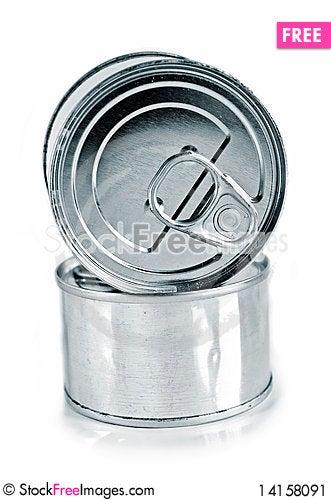 Free Food Tins Stock Image - 14158091