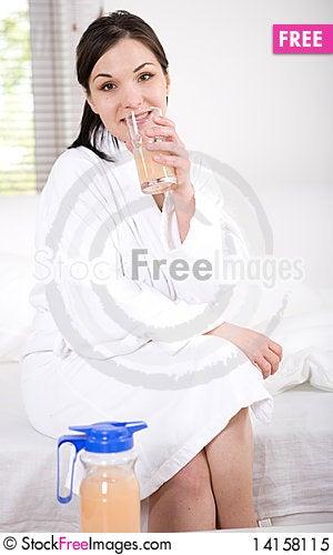 Free Happy Morning Royalty Free Stock Photo - 14158115