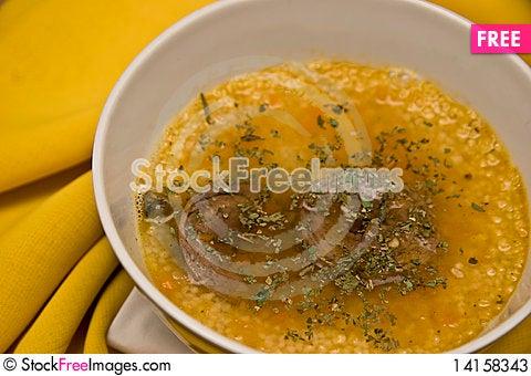 Free Cous Cous Soup Stock Photos - 14158343