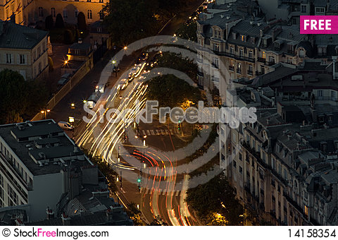 Free Night Intersection Stock Images - 14158354