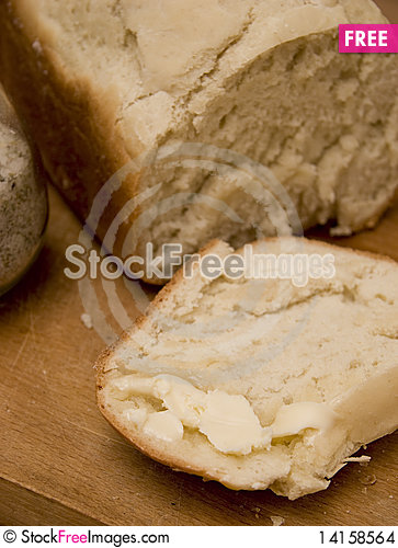 Free Bread And Butter Stock Images - 14158564