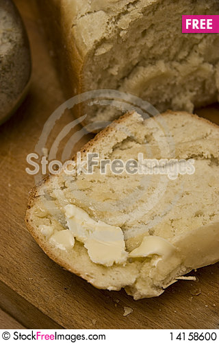 Free Bread And Butter Stock Photo - 14158600