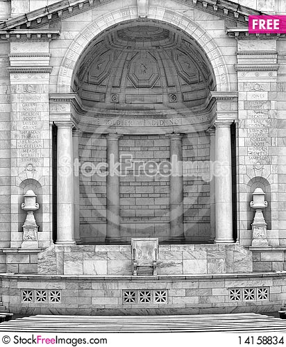 Free Memorial Amphitheater Stock Images - 14158834