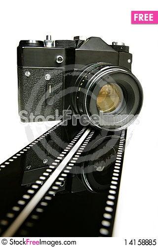 Free Old Camera Royalty Free Stock Photo - 14158885