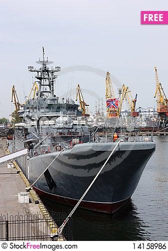 Free Military Ship Royalty Free Stock Image - 14158986