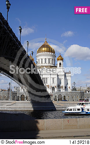 Free Cathedral Of Christ The Savior Royalty Free Stock Photos - 14159218