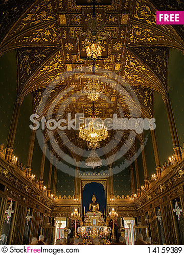 Free Ratchabopit Church Royalty Free Stock Images - 14159389