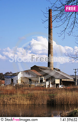 Free Old Brickworks Stock Photography - 14159652