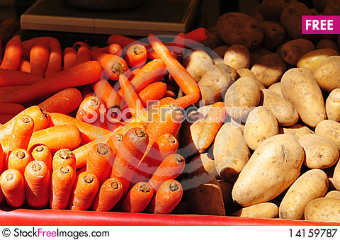 Free Vegetables Market Royalty Free Stock Photography - 14159787