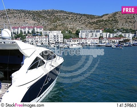 Free Yacht Mooring Stock Photos - 14159863