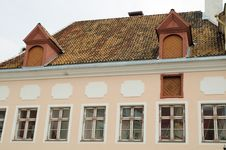Free Roof Of The Historical House Royalty Free Stock Images - 14150129