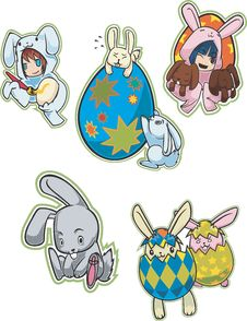 Easter Eggs & Bunnies
