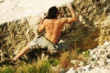 Free Free Climbing Royalty Free Stock Photos - 14150418