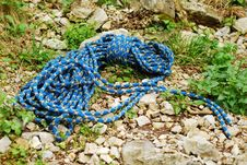 Free Climbing Rope Royalty Free Stock Photography - 14150527
