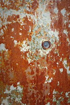 Rusty Door Royalty Free Stock Photo