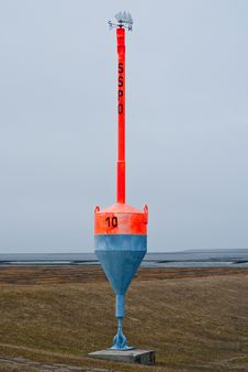 Free Buoy At Land Royalty Free Stock Images - 14150859