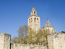 Free Monastery In Catalonia Royalty Free Stock Photos - 14153468