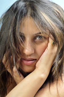Free Indian Model Girl Royalty Free Stock Photo - 14153485